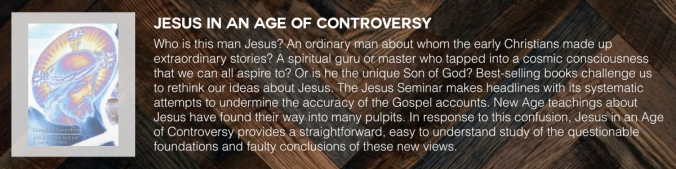 JESUS IN AN AGE OF CONTROVERSY